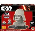 3d sculpture puzzle darth vader