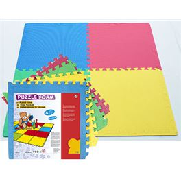 Puzzle de foam 4 pzs. 60cmx60cm - 99800205