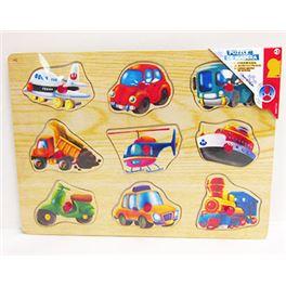 Puzzle de madera 3 stdos - 99807700