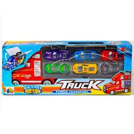 Camión portacoches con 6 coches - 87867844