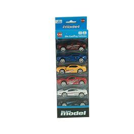 Pack 6 vehículos 8cm d/c f/w - 87868521