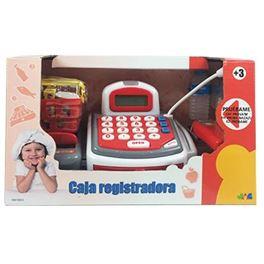 Caja registradora con luz, sonidos y calculadora - 99810833