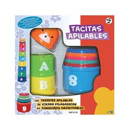Tacitas apilables 9 pcs - 99810120