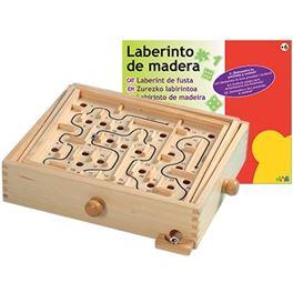 Laberinto de madera - 99802504
