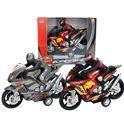 Moto con motorista fricción 24cm - 89815162