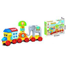 Tren circo construcción 31 pzas - 87878418