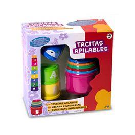 Tacitas apilables 9 pzas - 99810120