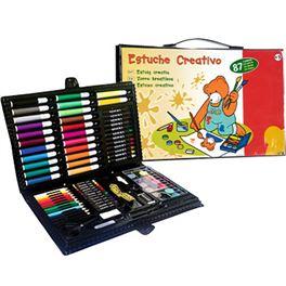Estuche creativo 87 pzas - 99800160