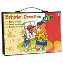 Estuche creativo 68 pzas - 99800120