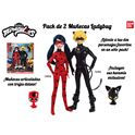 Pack 2 muñecas ladybug - 02539810