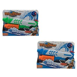 Pistola agua 33,5 cm 2 colores (azul, verde) - 87853799