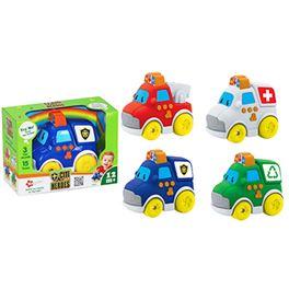 Coche servicio infantil 4 stdos (bombero, ambulanc - 87169031