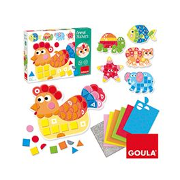 Animal stickers foam - 09553149