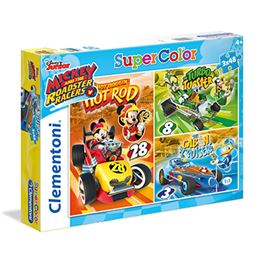 3x48 mickey & roadster racers - 06625227