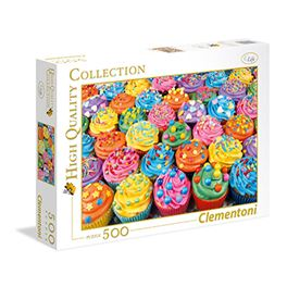 High quality 500 pz colorful cupcakes - 06635057