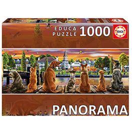 1000 perros en el embarcadero panorama - 04017689