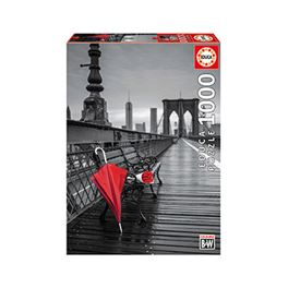 1000 paraguas rojo, puente de brooklyn coloured bl - 04017691