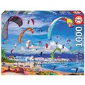 1000 kitesurfing
