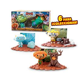 Hero eggs monsters - playset + 1 figura exclusiva - 23404917