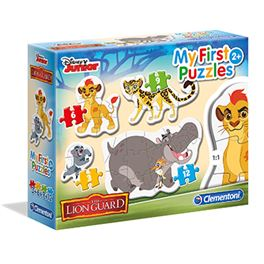 My first pzl 3-6-9-12 pcs lion guard - 06620801
