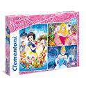 Puzzles 3x48 piezas princess - 06625211
