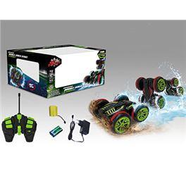 Vehículo rc amfibio cargador, batería y pilas 22x2 - 87861816