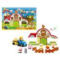 Granja infantil con animalitos y figuras - 92330835