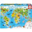 150 mapamundi animales - 04018115