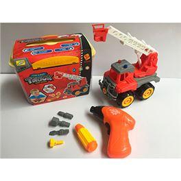 Maletín camión bomberos con taladro - 97202508