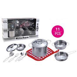 Accesorios cocina inoxidable 11 pzas - 87868573