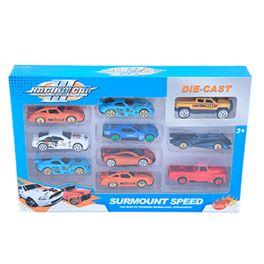 Caja 10 coches metal (comprado feria como 94200230 - 97232447