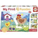 """Mamás y bebés """"my first puzzles"""" - 04018899"""